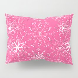 Dainties Bold Pink Pillow Sham