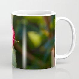 Closed Pink Rose Coffee Mug