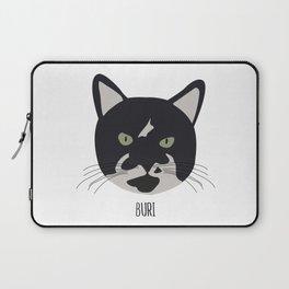 Family Cat Portraits, Buri Laptop Sleeve