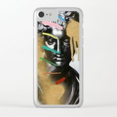 Composition 527 Clear iPhone Case