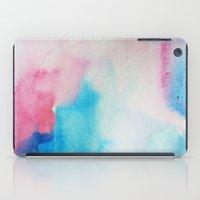 nirvana iPad Cases featuring Nirvana by elena + stephann