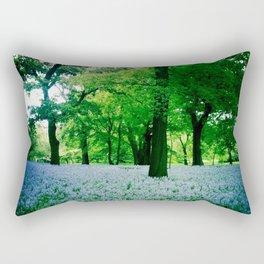 Violet Fields 2 Rectangular Pillow