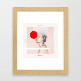 Mute Songs Framed Art Print