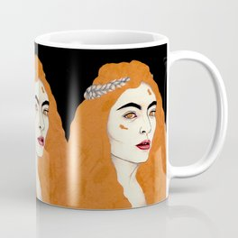 Gold Classy Woman Coffee Mug
