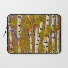 Birch trees-3 Laptop Sleeve