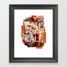 Kate of Kale's Slut Avenue Framed Art Print