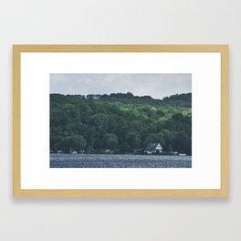Portage Lake Framed Art Print
