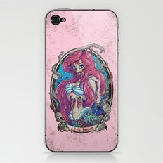 Zombie Little Mermaid iPhone & iPod Skin