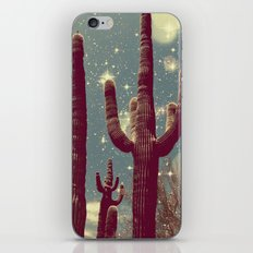 Space Cactus iPhone & iPod Skin