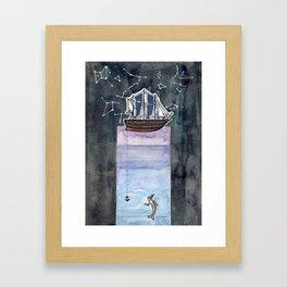 till havs Framed Art Print