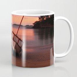 Beached yacht Coffee Mug