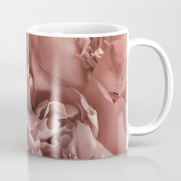 Blush Pink Floral Coffee Mug