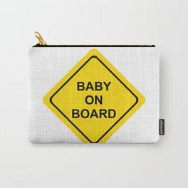 baby on board #society6 #decor #buyart #artprint Carry-All Pouch