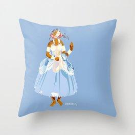 ORIXAS_ iemanjá Throw Pillow