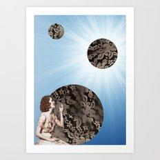 Lace Bubbles Art Print