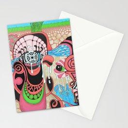 underground production Stationery Cards