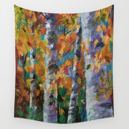 Birch trees - 1 Wall Tapestry