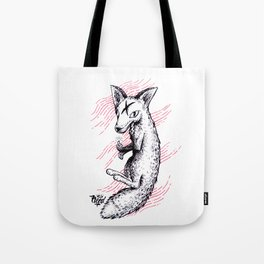 Graphic Fox Tote Bag