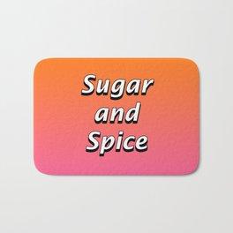 Sugar and Spice Bath Mat