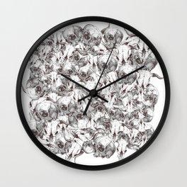 Farm Skull Wall Clock
