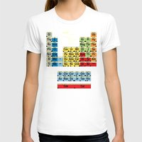 periodic table T-shirts featuring Periodically Fictional Table by AMO Design