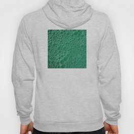 Champagne Bubbles Collection: #2 - Emerald Green Hoody