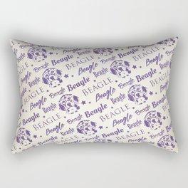 Beagle dog pattern Rectangular Pillow