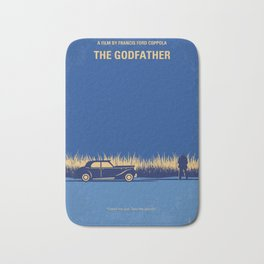 No686-1 My Godfather I minimal movie poster Bath Mat
