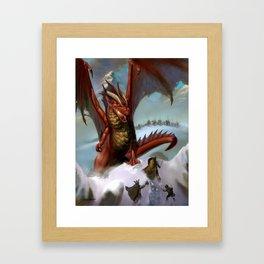 Guardian of the Pass Framed Art Print