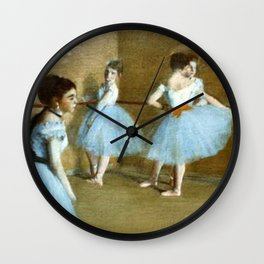 Dance Opera  By Edgar Degas | Reproduction | Famous French Painter Wall Clock