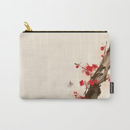 Oriental plum blossom in spring 010 Carry-All Pouch