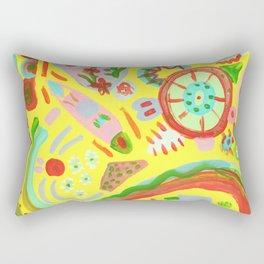 pon pon Rectangular Pillow