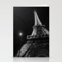 eiffel Stationery Cards featuring Eiffel by Envibe Photography