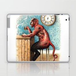 The Demon Drinks Laptop & iPad Skin