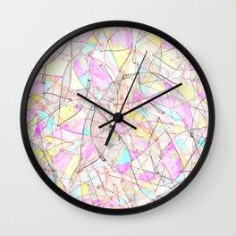 Collision 2 Wall Clock