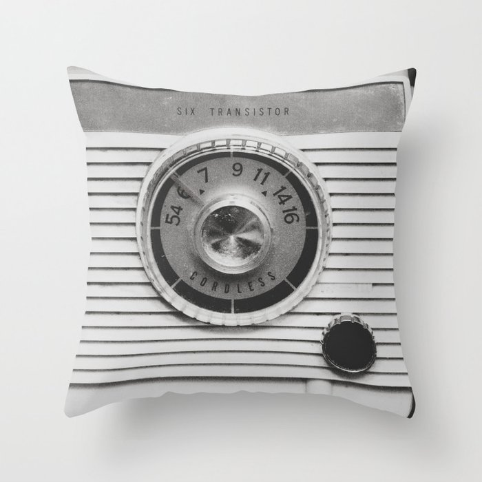 On the Air Throw Pillow