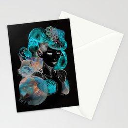 sea lady Stationery Cards
