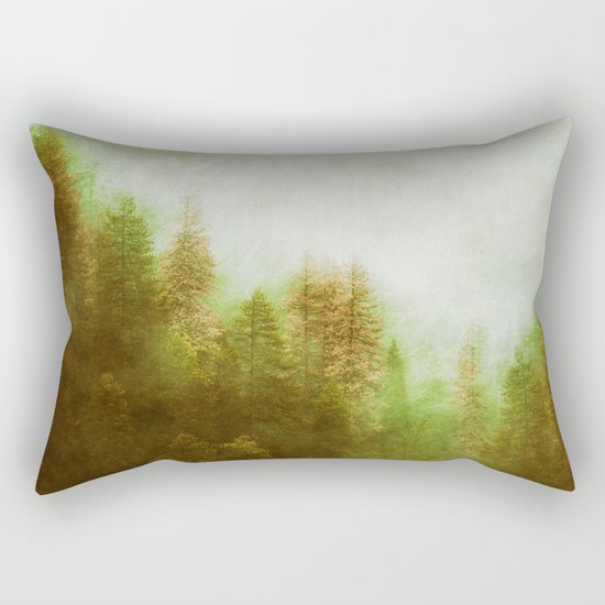Dreamy Summer Forest Rectangular Pillow