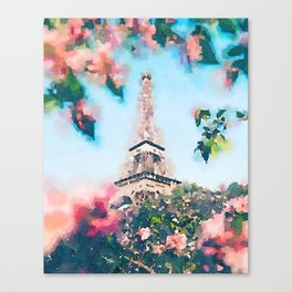 Paris 2 Canvas Print
