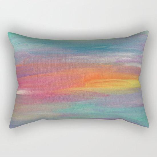 Opal Landscape Rectangular Pillow