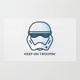Keep on Troopin' Rug