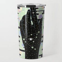 Capricorn - Zodiac Illustration Travel Mug