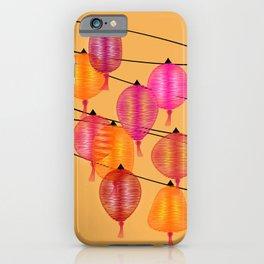 Chinese night iPhone Case