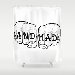 Hand Made & In Your Face Shower Curtain