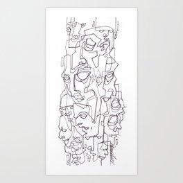 Everywhere I Look Art Print