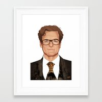 harry Framed Art Prints featuring Harry by Jackie