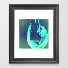 People living life in Bottles Framed Art Print
