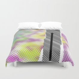 Chemin strié 01 Duvet Cover