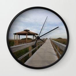 Tybee Beach Wall Clock