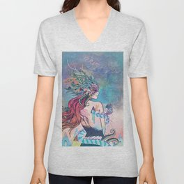 The Last Mermaid Unisex V-Neck